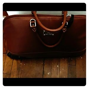 Joy Mangano wheeled Duffle Bag and Pocket book